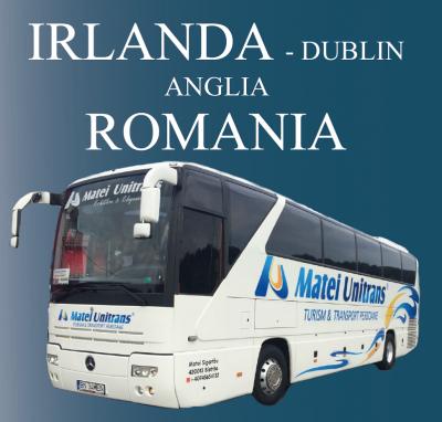 Irlanda - Anglia - Romania